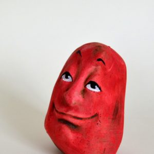 Red Paperweight