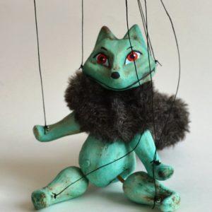 Turquoise Fox