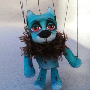 Turquoise Dog