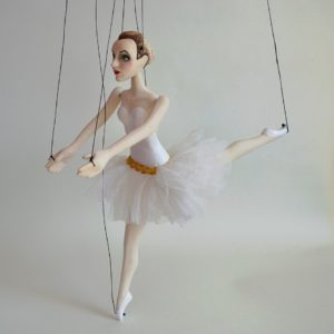 Little White Ballet Dancer
