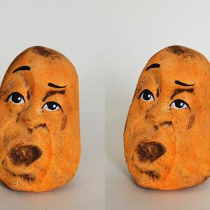 Orange Paperweight