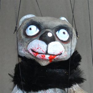 Black Halloween Bear 2