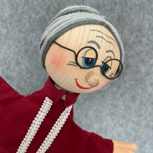 Grandmother Hand Puppet