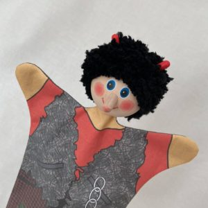 Old Scratch Hand Puppet