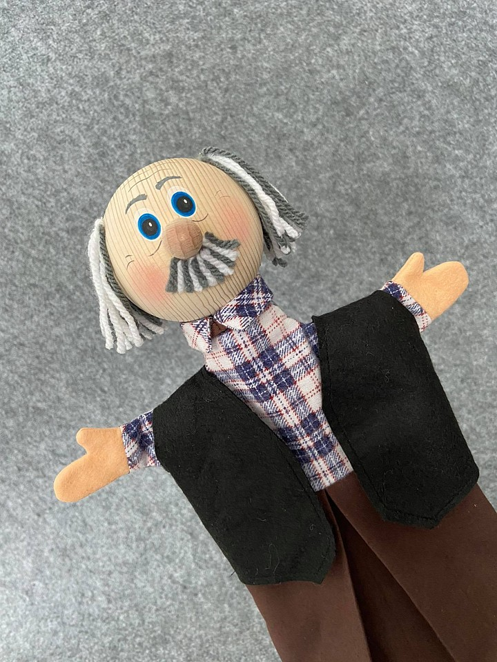 Grandfather Hand Puppet